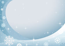 Abstract winter design Stock Photos