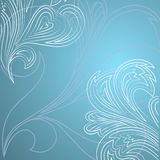Abstract winter frosty background vector pattern. Royalty Free Stock Photo