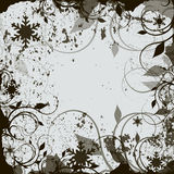 Abstract winter grunge background Stock Photography