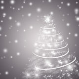 Abstract winter holiday background/greeting card Stock Photography