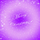 Abstract winter holiday background/greeting card/texture. Abstract shiny winter holiday background/greeting card/texture in violet and white Royalty Free Stock Images