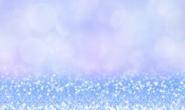 Magnificent winter magic background with glitter. Abstract winter magic background with glitter, snoflake, sparkle and bokeh stock illustration