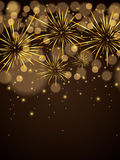 Abstract winter New Year background Royalty Free Stock Photos