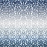 Abstract winter pattern with glacial snowflakes. Royalty Free Stock Photo