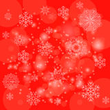 Abstract Winter Pattern.  Snowflakes Background Royalty Free Stock Photography