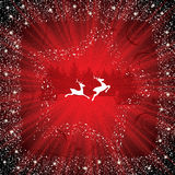 Abstract winter red background Royalty Free Stock Photos