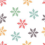 Abstract winter seamless background Royalty Free Stock Images