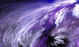 Abstract Winter Storm. royalty free stock photography