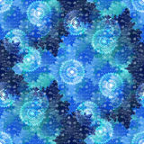 Abstract winter tileable background Royalty Free Stock Images
