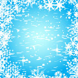 Abstract winter vector backgro Stock Photography