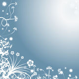 Abstract winter vector backgro. Decorative abstract winter vector background Royalty Free Stock Images