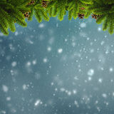 Abstract winter and Xmas backgrounds Stock Photos