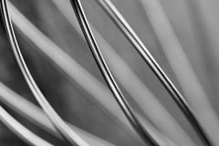 Abstract wire background. Monochrome steel back Royalty Free Stock Image