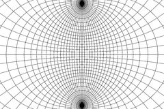 Abstract wireframe Royalty Free Stock Images