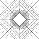 Abstract wireframe grid background Stock Photo