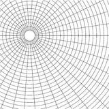Abstract wireframe grid background. For your design stock illustration