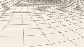 Abstract  wireframe landscape background. Cyberspace grid. 3d technology   illustration. Digital   for presentations . Royalty Free Stock Photography