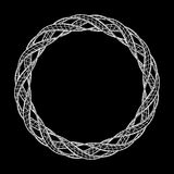 Wireframe mesh ring Royalty Free Stock Photo