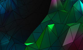 Abstract wireframe surface background royalty free stock photo