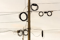 Abstract wires Stock Photography