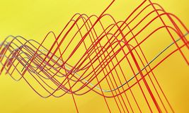 Abstract wires Royalty Free Stock Photo