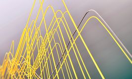 Abstract wires Royalty Free Stock Photos