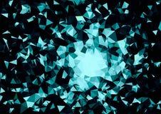 Abstract wit blauw kleuren bokeh behang royalty-vrije stock foto