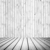 Abstract wit houten binnenland Royalty-vrije Stock Foto's