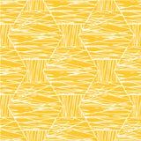 Abstract Wit Oranje Patroon Royalty-vrije Stock Fotografie