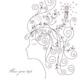 Abstract woman Royalty Free Stock Images
