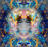 Abstract Woman decor Royalty Free Stock Images
