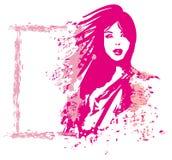 Abstract woman. fashion illustration. Abstract woman. Vector fashion illustration vector illustration