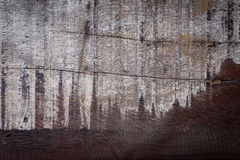 Abstract wood aged weathered rough grain surface texture Stock Photos
