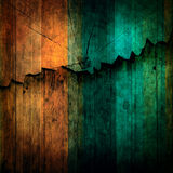 Abstract of wood breaking wall background use for multipurpose b Royalty Free Stock Image