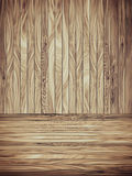 Abstract Wood Plank and wall Background Royalty Free Stock Photo