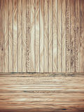 Abstract Wood Plank and wall Background Royalty Free Stock Images