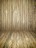 Abstract Wood Plank and wall Background Royalty Free Stock Photography