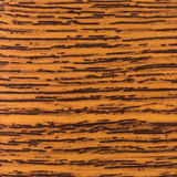Abstract wood texture with focus on the wood's grain. Mahogany w Royalty Free Stock Photography