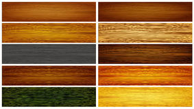 Abstract wood textures Royalty Free Stock Images