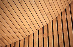 Abstract wooden architecture background Royalty Free Stock Photos