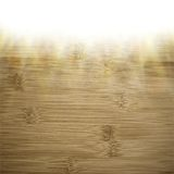 Abstract wooden background.  blurry light effects Royalty Free Stock Photo