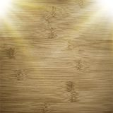 Abstract wooden background.  blurry light effects Royalty Free Stock Photos
