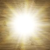 Abstract wooden background.  blurry light effects Royalty Free Stock Images