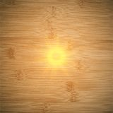 Abstract wooden background.  blurry light effects Stock Photo