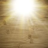 Abstract wooden background.  blurry light effects Stock Photography