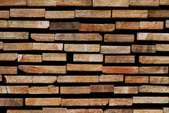 Abstract Wooden Background: Stacked Cross-Sections of Different Softwood Slats. Abstract wooden texture based on a group of stacked softwood cross-sections royalty free stock photos