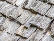 Abstract wooden grids roof pattern Royalty Free Stock Image