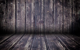 Abstract Wooden Interior Walls Stage Background Stock Photography