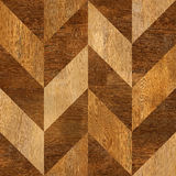 Abstract wooden paneling pattern - seamless background - wood Stock Photography