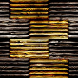 Abstract wooden paneling - seamless background - different color Royalty Free Stock Photos
